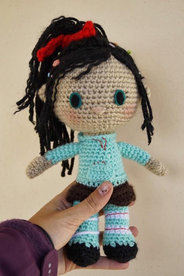 Mi primer muñeca hecha con la tecnica amigurumi | Manualidades
