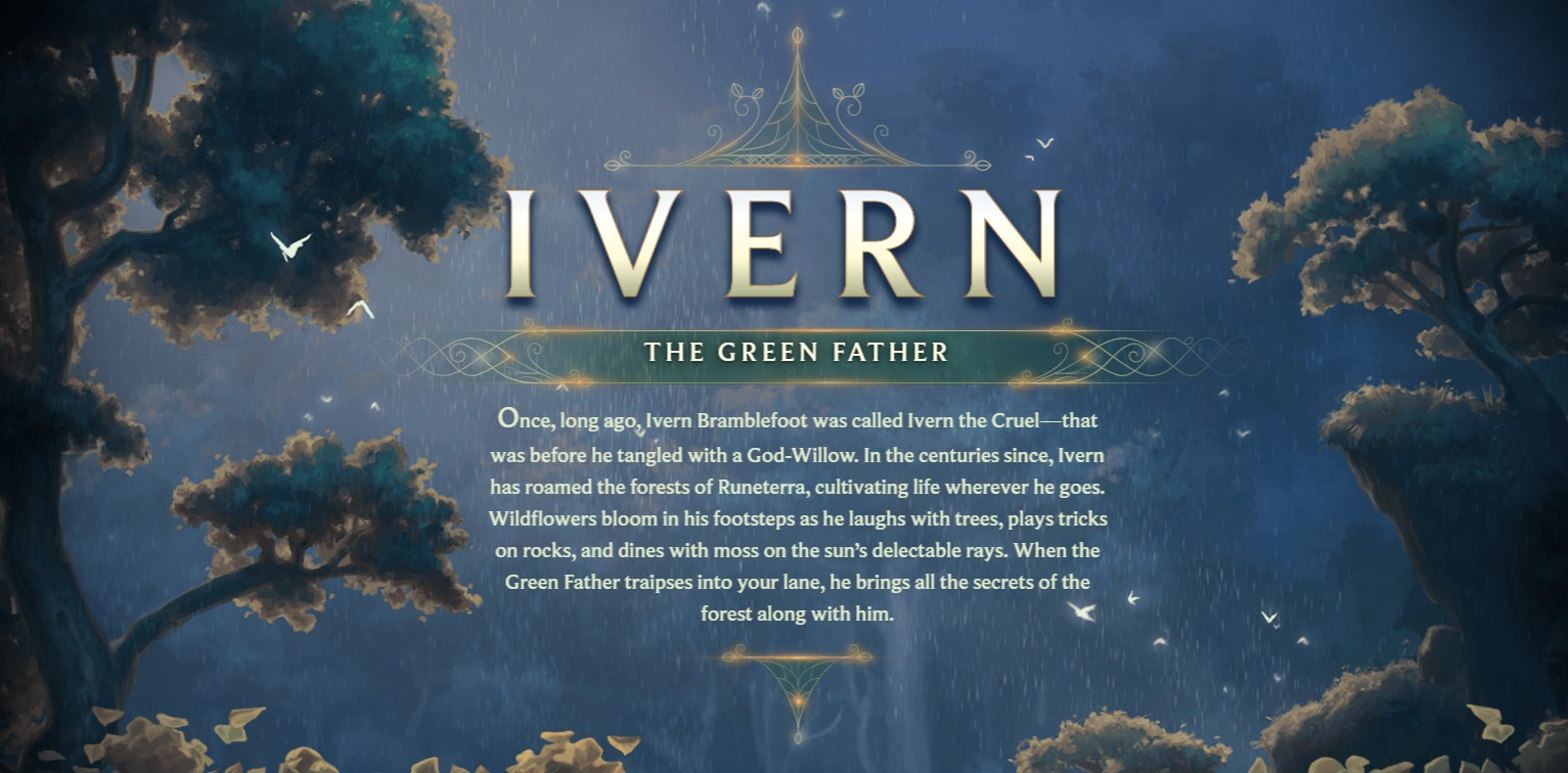 Surrender at 20: Champion Reveal: Ivern, the Green Father