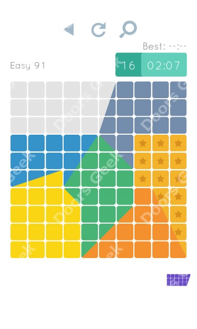 Cheats, Walkthrough for Blocks and Shapes Level 91