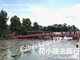 津島天王川公園蓮花池