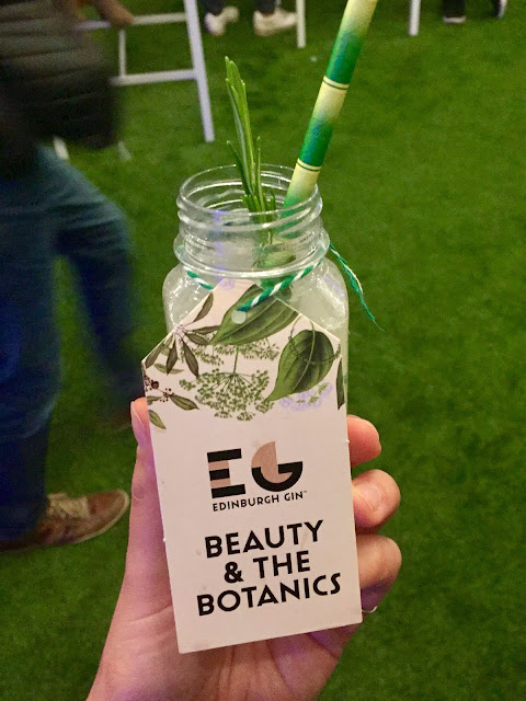 Edinburgh Gin Beauty and the Botanics at Cocktail Village