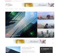 Download Theme Themexpose Premium Melesa Blogger Blogspot Template Gratis Responsive   Seo Friendly   Keren