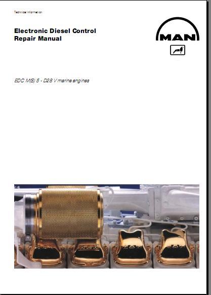 Man ebook,soft: [Repair Manual] Electronic Diesel Control