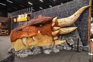 Dragão Épicron na Comic Con Experience 2016  Foto: Gabriel Colombara)