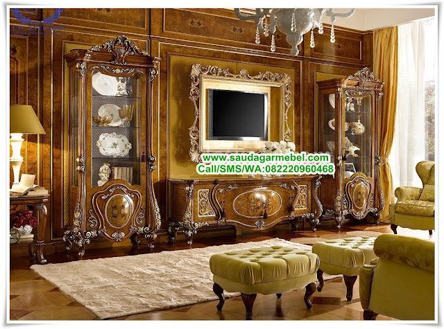 Buffet Tv Mewah Liberty Modern