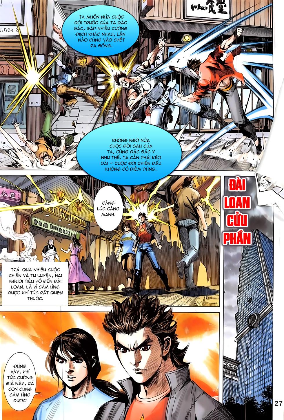 Đông Phương Chân Long chap 66 - Trang 27