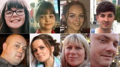 Some of the people killed in the Manchester attack were children
