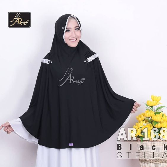 32 Model Jilbab Arrafi Modern Casual Terbaik 2019 Model Baju