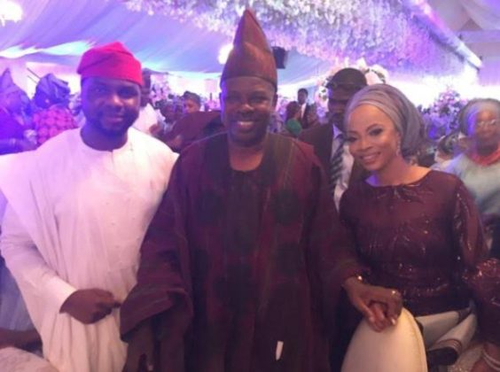 Abike Dabiri Erewa, Wedding, Toke Makinwa, Debola Williams, Entertainment, News,