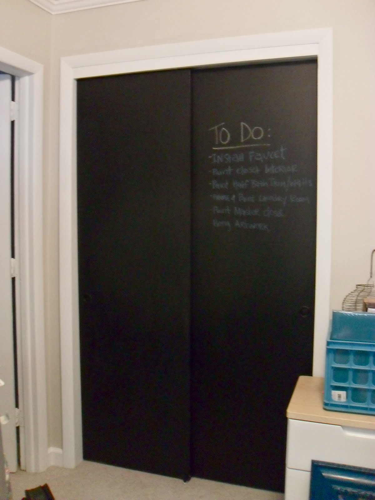 the remodeled life chalkboard doors the finale