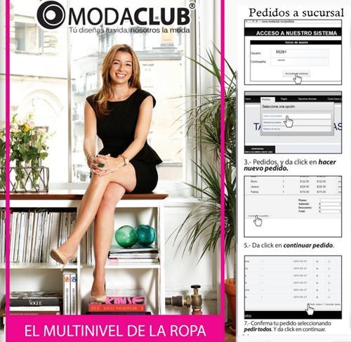 2e62c0cd7fc Manual Moda Club ¿Pedidos a sucursales y ganancias