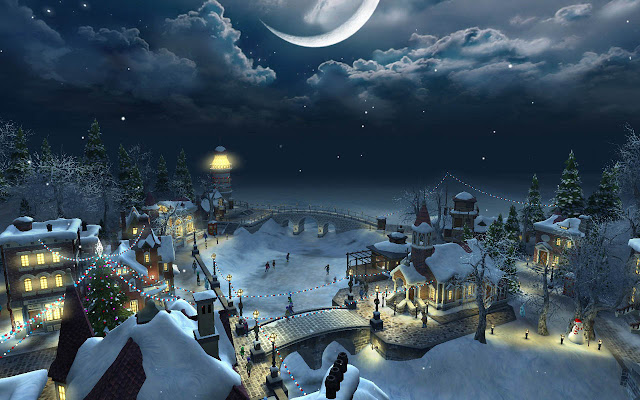 Christmas Night HD Wallpapers Free Download