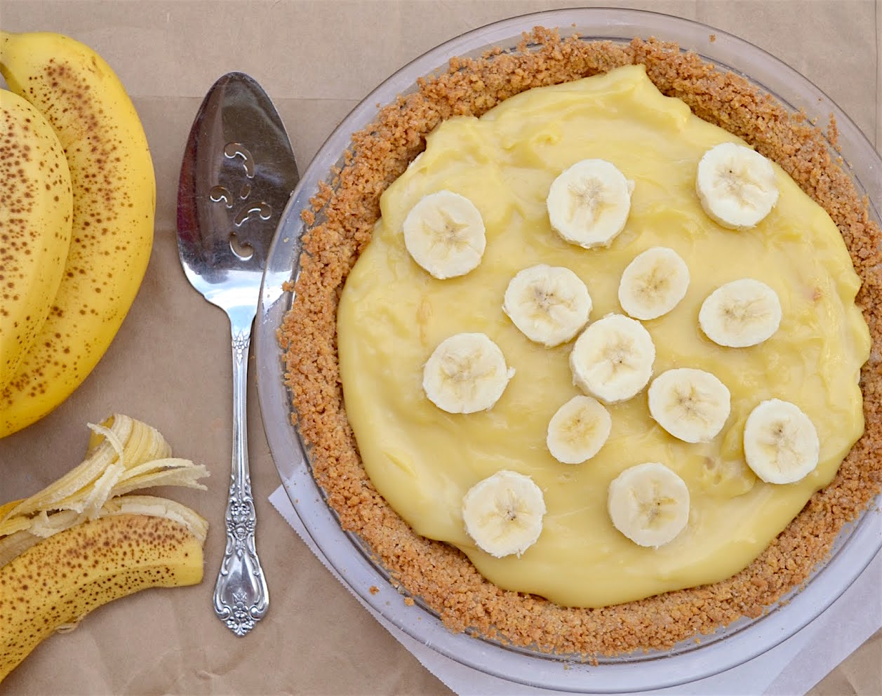 Vintage Banana Cream Pie
