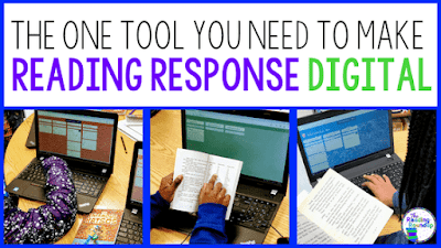 Make Reading Response Digital with Padlet - The Reading Roundup