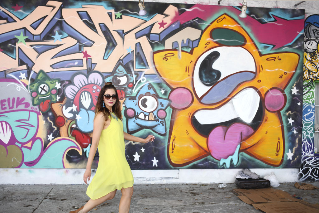Amy West walks through the Wynwood Walls