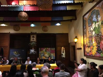 Presentación del Libro de Soledad Tafolla Levorini en Restaurante Doña Paca de Mansión Iturbe
