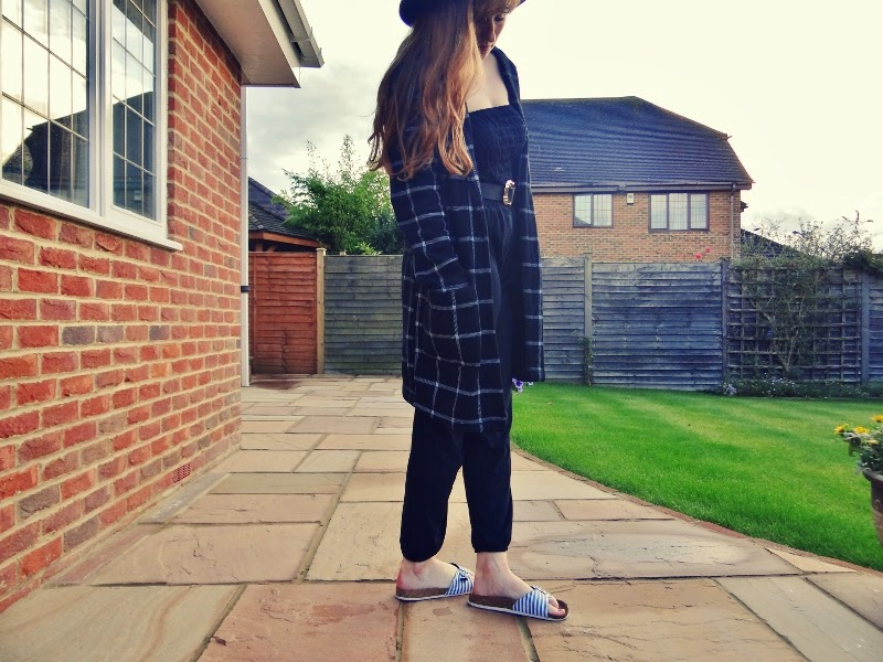 black jumpsuit primark