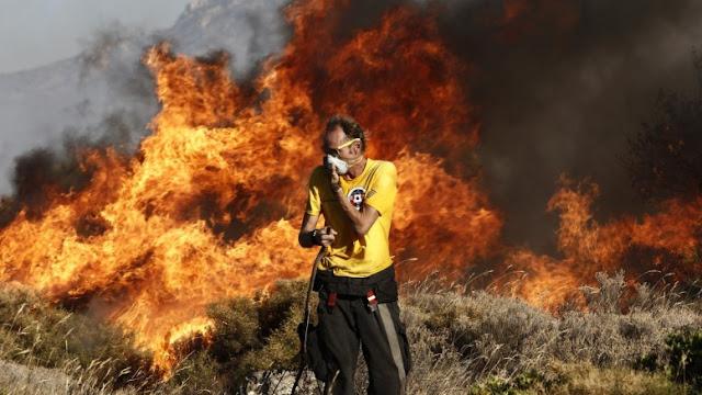 Συνελήφθη 46χρονος αλλοδαπός για την μεγάλη πυρκαγιά στη Ηλεία