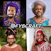 Artist turns Nigerian Celebs to Women in Traditional attires (Photos)