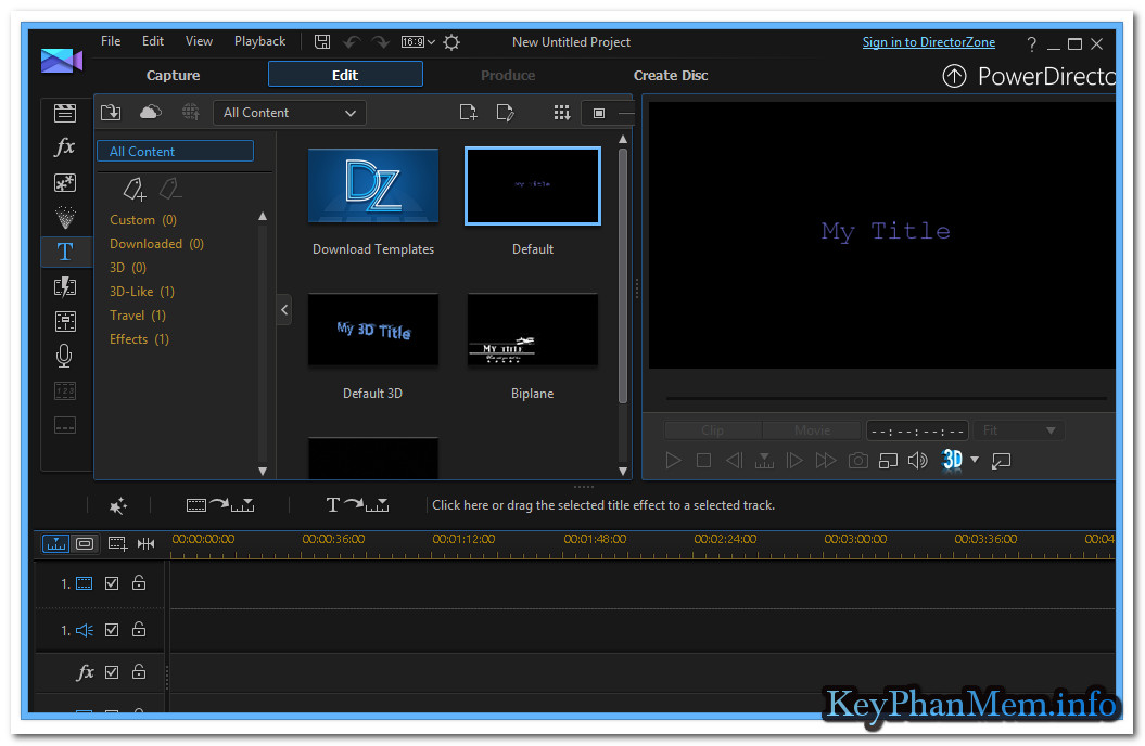 CyberLink PowerDirector Ultra 16.0.2101.0 / Ultimate 16.0.2730.0 + Suite ,Phần mềm có số má trong biên tập Video