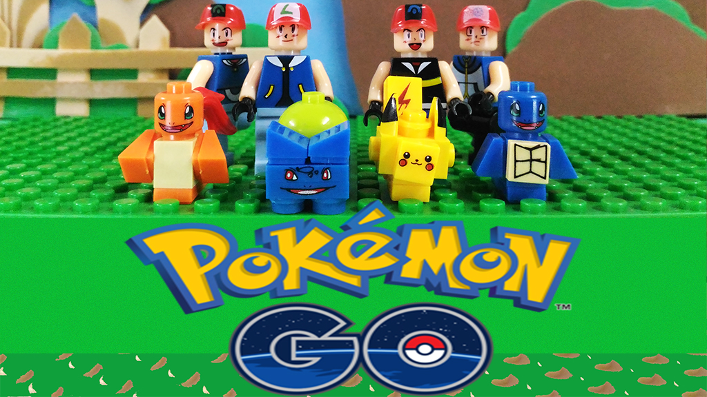 4urKid Channel: Lego - Pokemon GO - Knockoff Minifigures Review