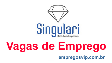 Vagas de emprego  Singulari Consultoria Empresarial