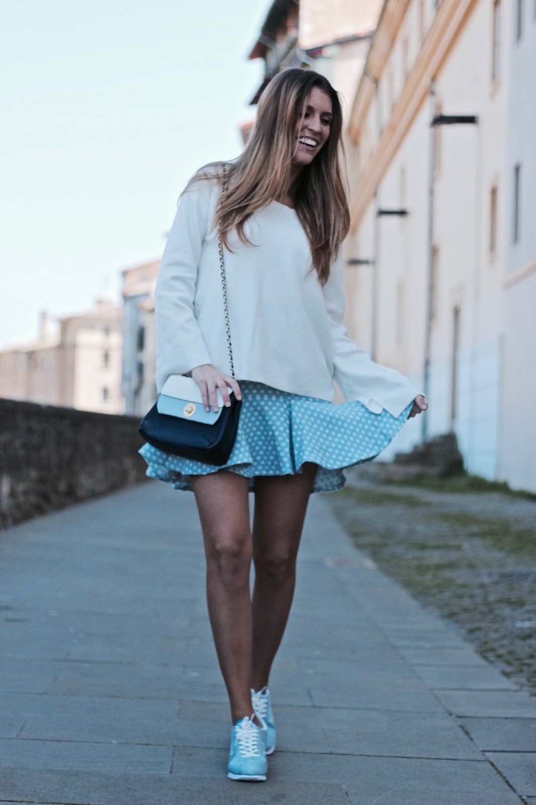 falda con playeras