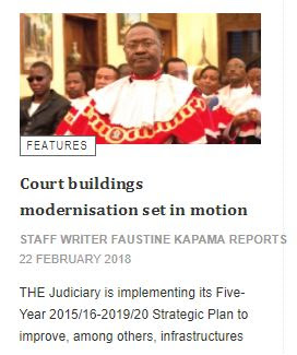 Tanzanian Court buildings modernisation set in motion moladi