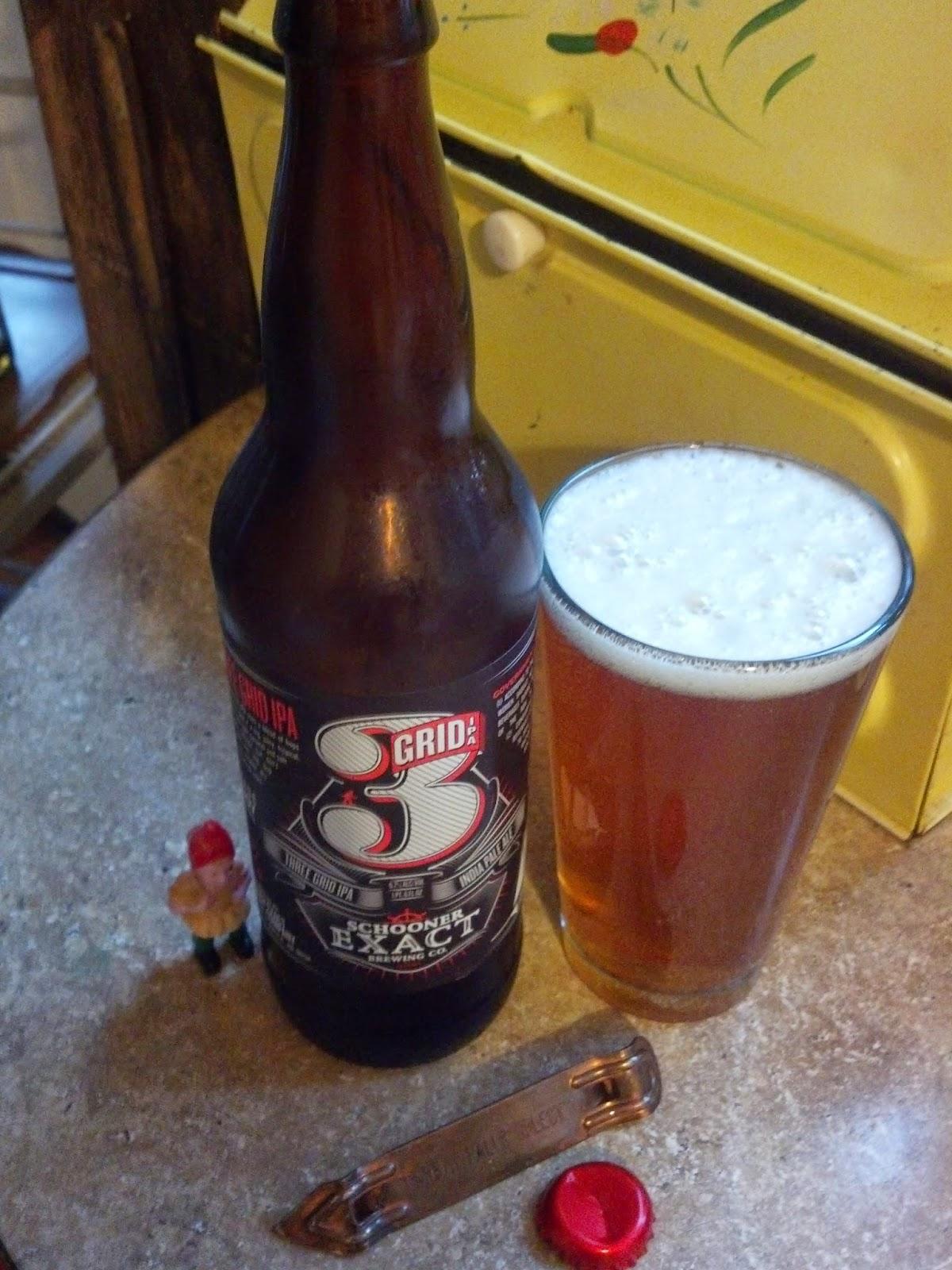 Beer Guy PDX: Schooner Exact Brewing Company - 3 Grid IPA