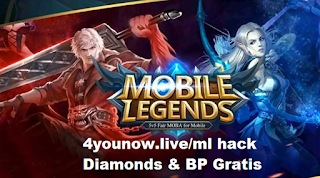 4younow.live/ml || 4younow.live/ml hack Diamonds & BP Gratis Mobile legends 2019