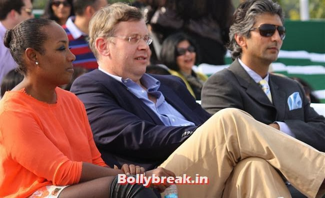 posh indian people at northern india polo championship