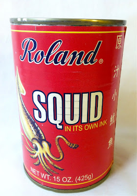 a can of squid in its own ink
