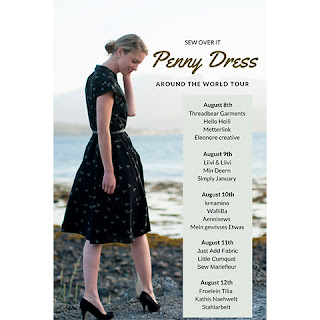SOI Penny Dress Blogtour