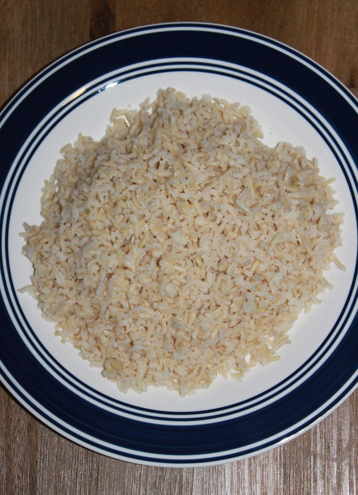 Cooked Brown Basmati Rice