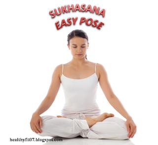 Sukhasana for stress