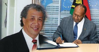 Andy Ayamiseba : Kalo Ada yang Mencoba Merusak Program Politik ULMWP dan Vanuatu, Mereka akan Ditindak
