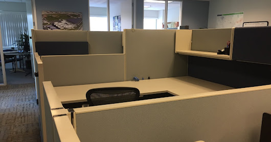 37- Herman Miller AO2 8'x8' cubicles, BLOW OUT AT $265 EA.