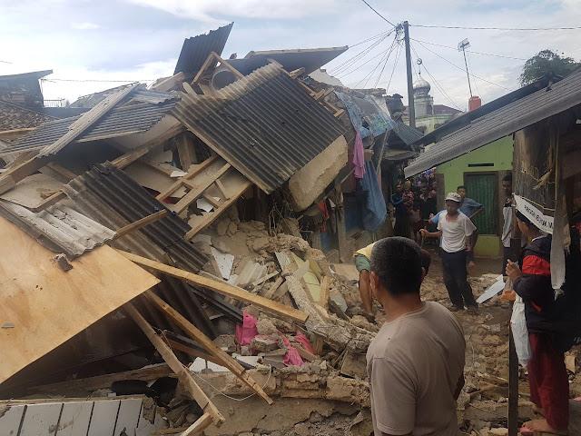 311 Rumah Hancur Diguncang Gempa 6,1 SR