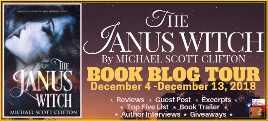 The Janus Witch book blog tour promotion banner