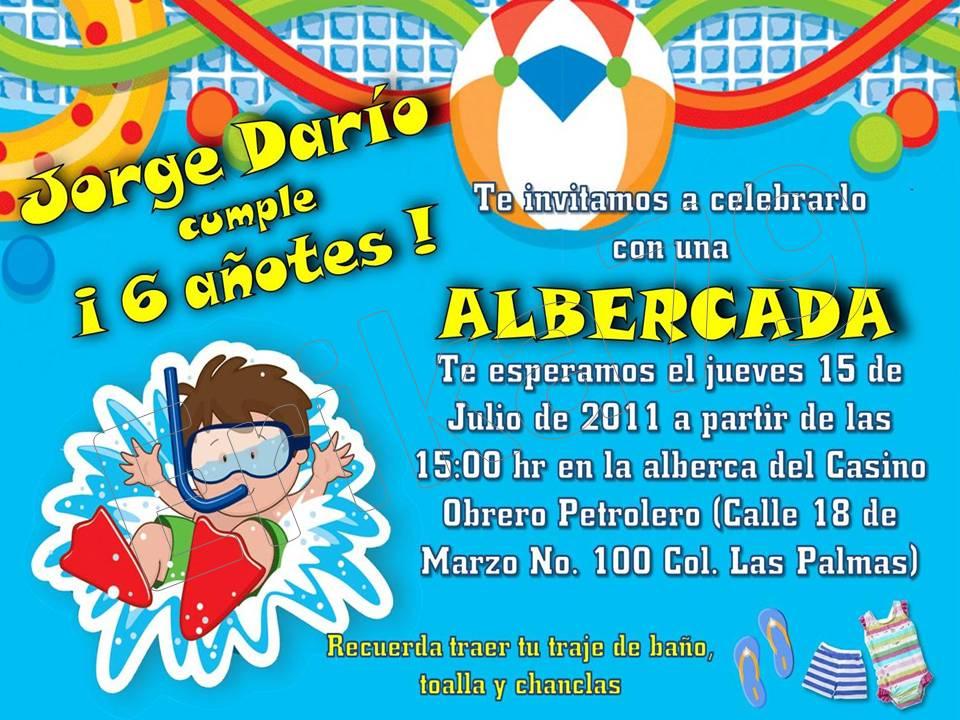 38 3 Invitaciones De Fiesta