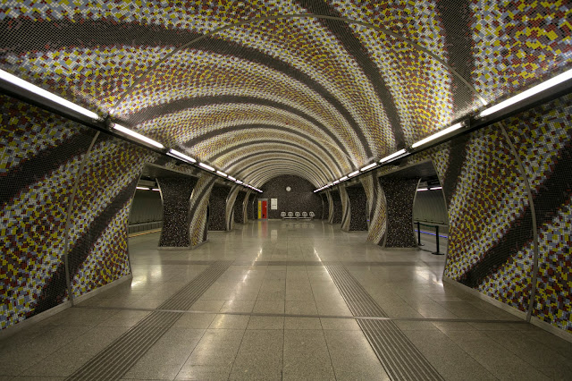 Metropolitana Bagni Gellert-Budapest