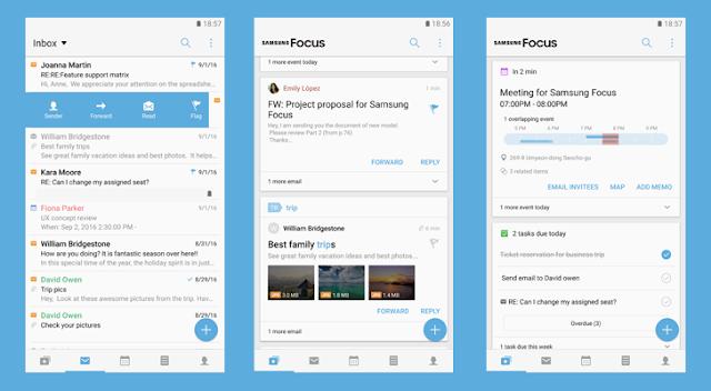 سامسونج تطلق تطبيق خاص بها Samsung Focus