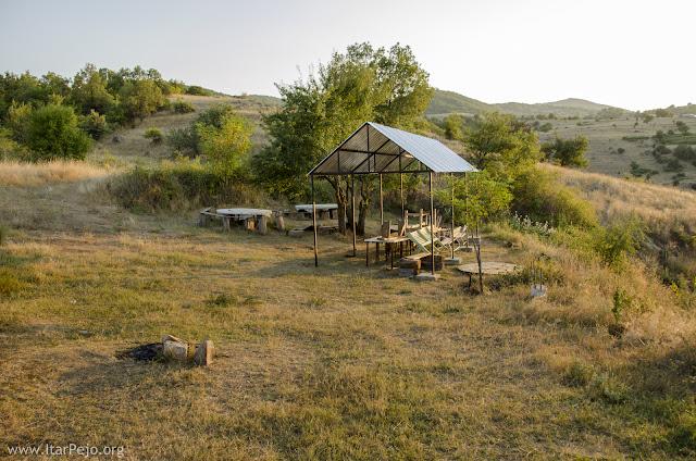 Rest location in the area of village Rapes, Mariovo