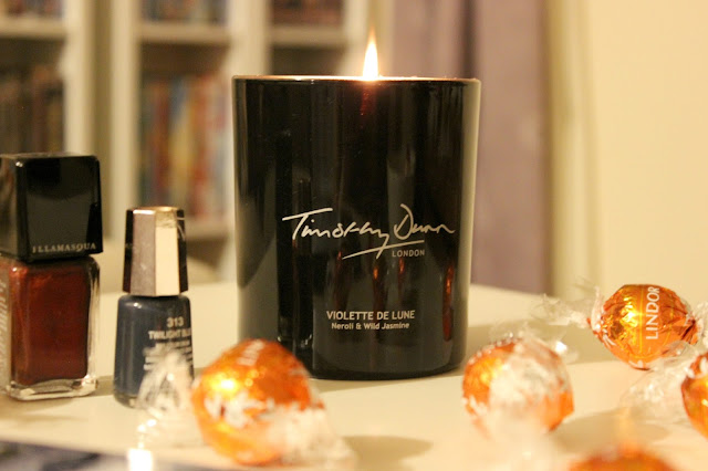 Relax and unwind with Timothy Dunn signature scent, Violette De Lune Neroli & Wild Jasmine