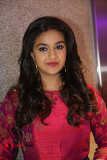 Actress Keerthi Suresh Stills at Remo Success Meet  0001.JPG