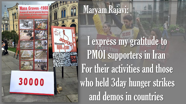 Maryam Rajavi calls for formation of a movement to obtain justice for victims of 1988 massacre
