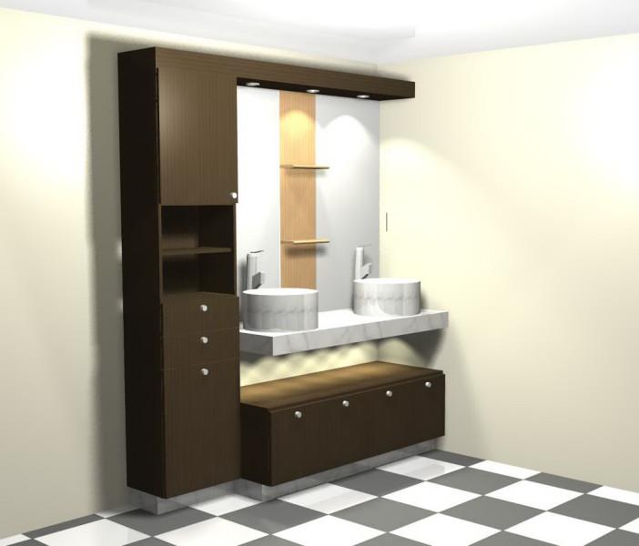 Modernos Ba 241 Os Con Closet Kitchen Design Luxury Homes