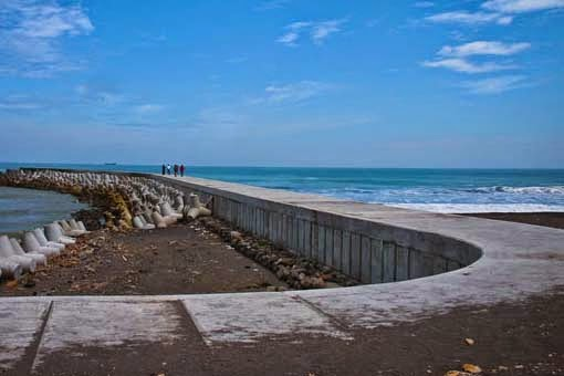Objek Wisata Pantai Glagah Kulon Progo Yogyakarta