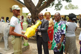 Okechukwu Emmanuel Flags High the Banner of the Niger Delta University through Arts!