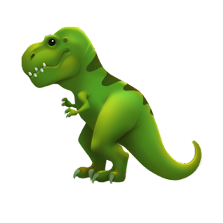 T-rex Apple Emojis for 2017